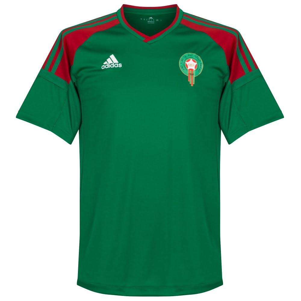 Morocco 2017 Adidas Home, Away and Third Shirts | 1718 Kits