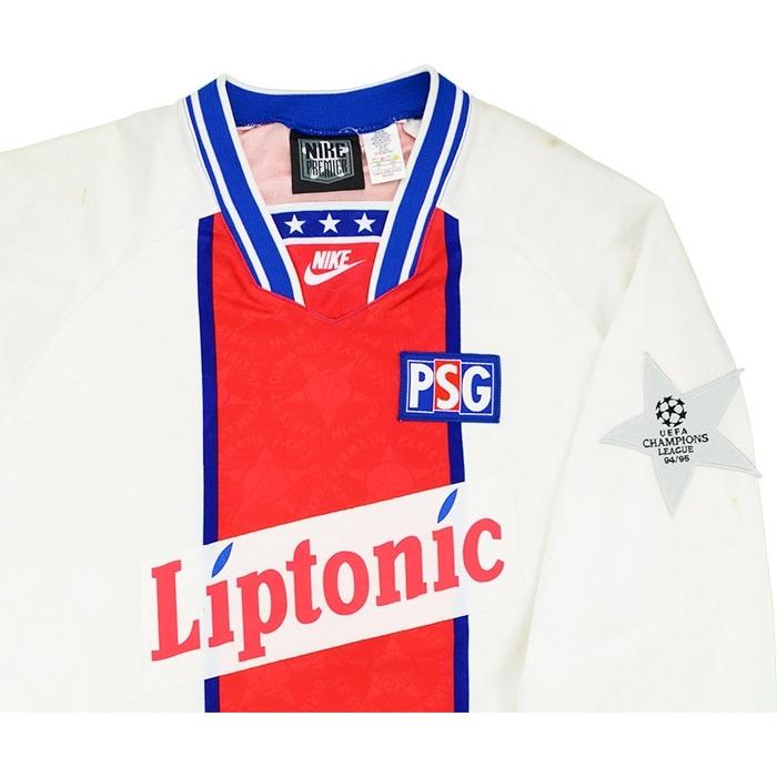 reputable site 32a3b 83240 Nike 1994-95 Paris Saint-Germain Match Issue Champions ...