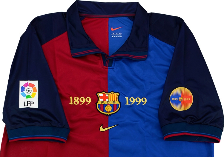 5ee91178258 ... Click to enlarge image  nike 1999 00 barcelona match issue centenary home shirt bogarde c.jpg