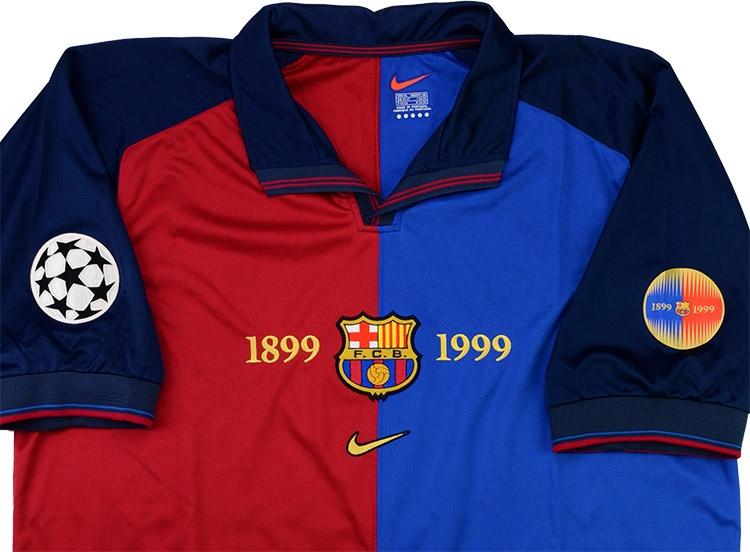 buy popular c4455 117e7 Nike 1999-00 Barcelona Match Issue Champions League ...