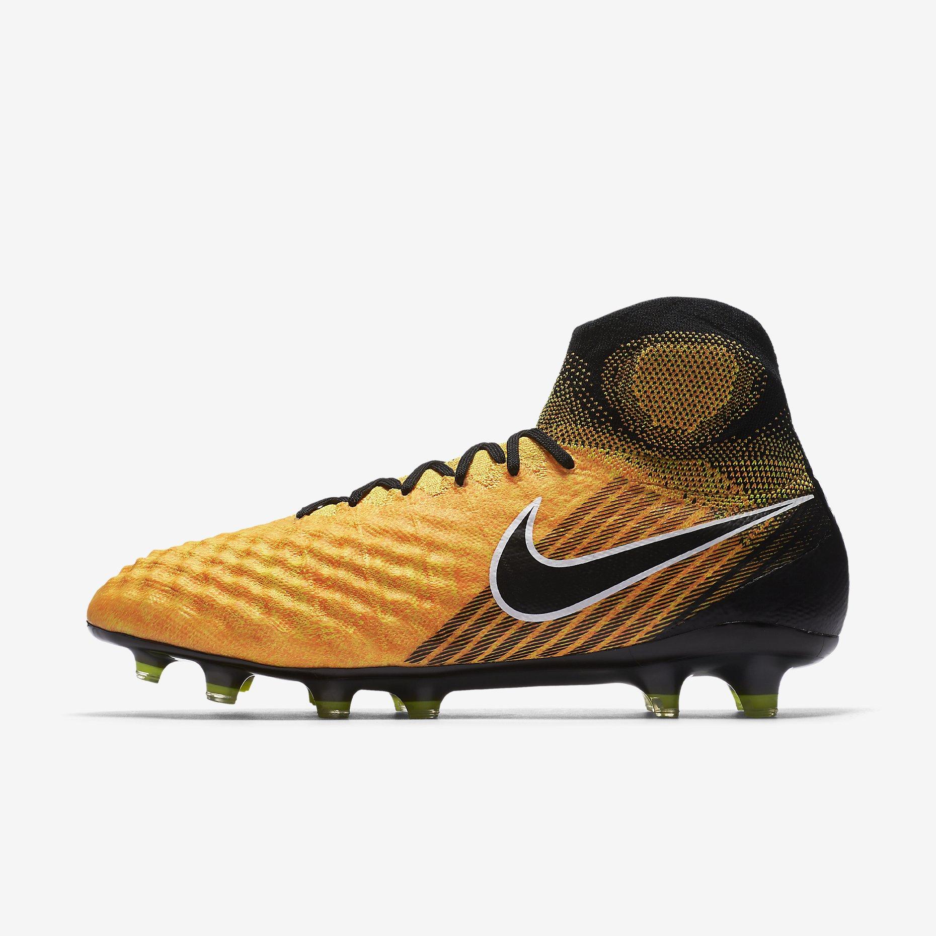 nike magista obra ii fg lock in let loose laser orange white volt black football boots. Black Bedroom Furniture Sets. Home Design Ideas