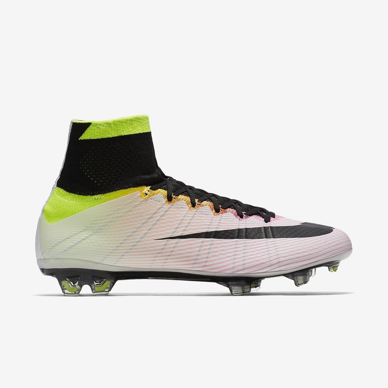 98ca760eb coupon nike mercurial superfly fg white black volt total orange 898c0  1f654  aliexpress click to enlarge image nike mercurial superfly fg radiant  reveal ...