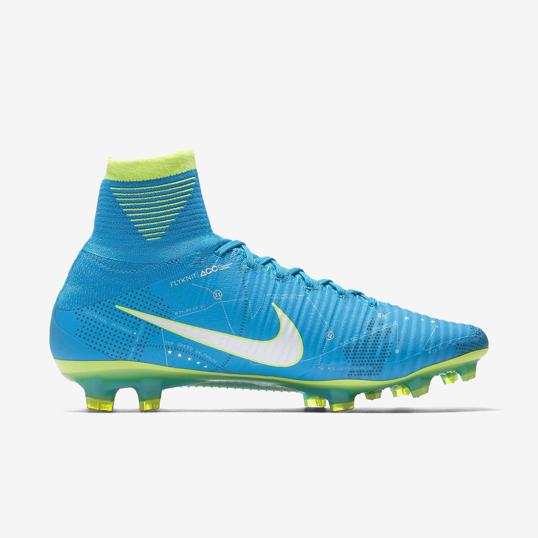 premium selection 7e151 9e9e1 Nike Mercurial Superfly V Dynamic Fit Neymar FG - Blue Orbit ...