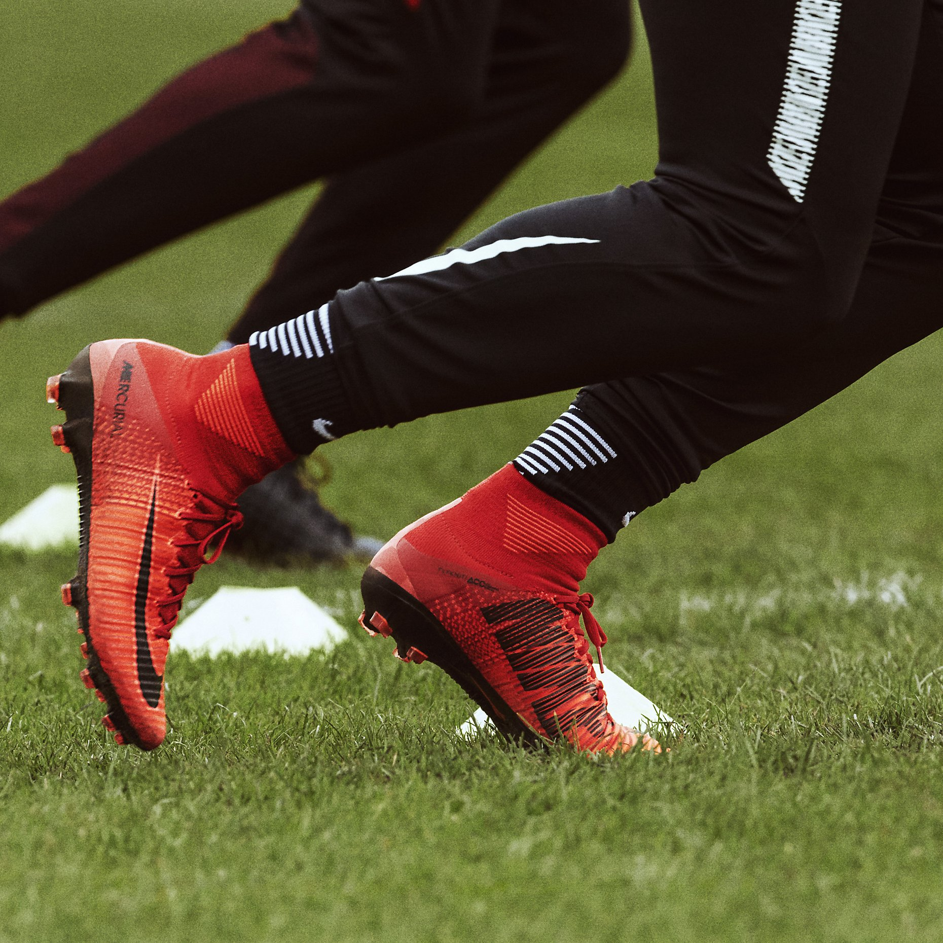 Nike Mercurial Superfly V Fg Fire Amp Ice University Red