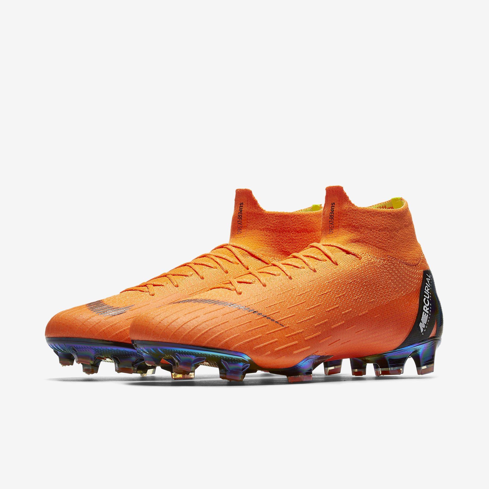 new product 755f1 6310f Nike Mercurial Superfly 360 Elite FG - Total Orange / Total ...