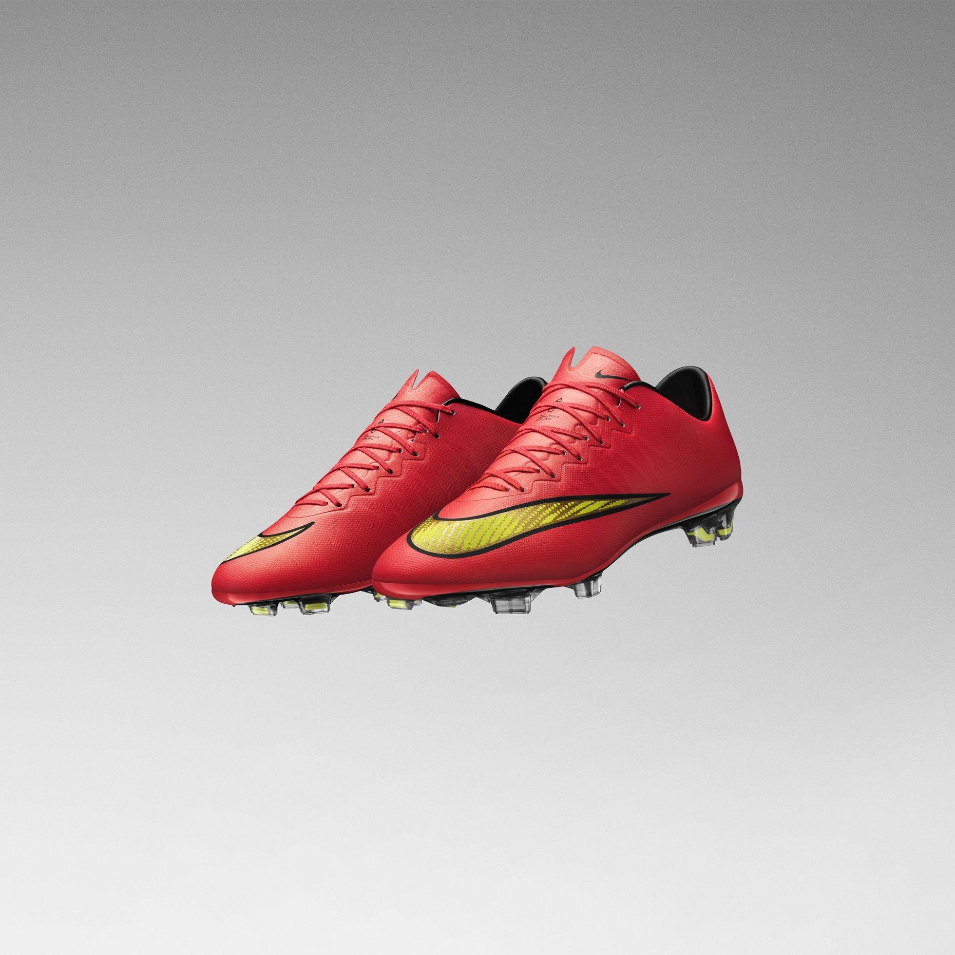 newest fbc3d 585c6 Nike Mercurial Vapor X FG - Hyper Punch / Gold / Black | Football ...