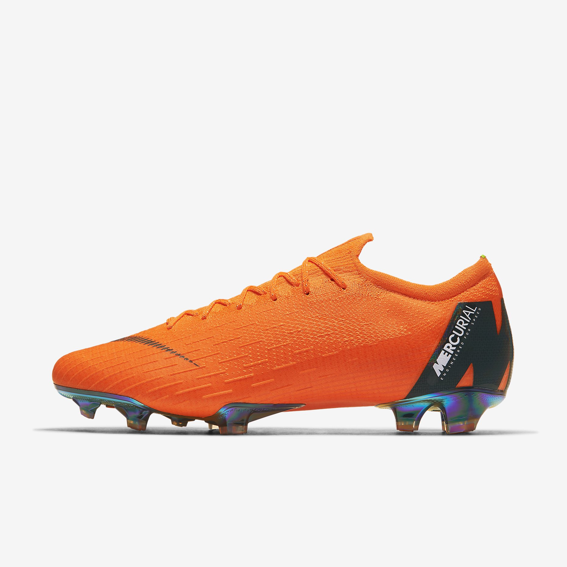 Nike Orange Soccer Shoes