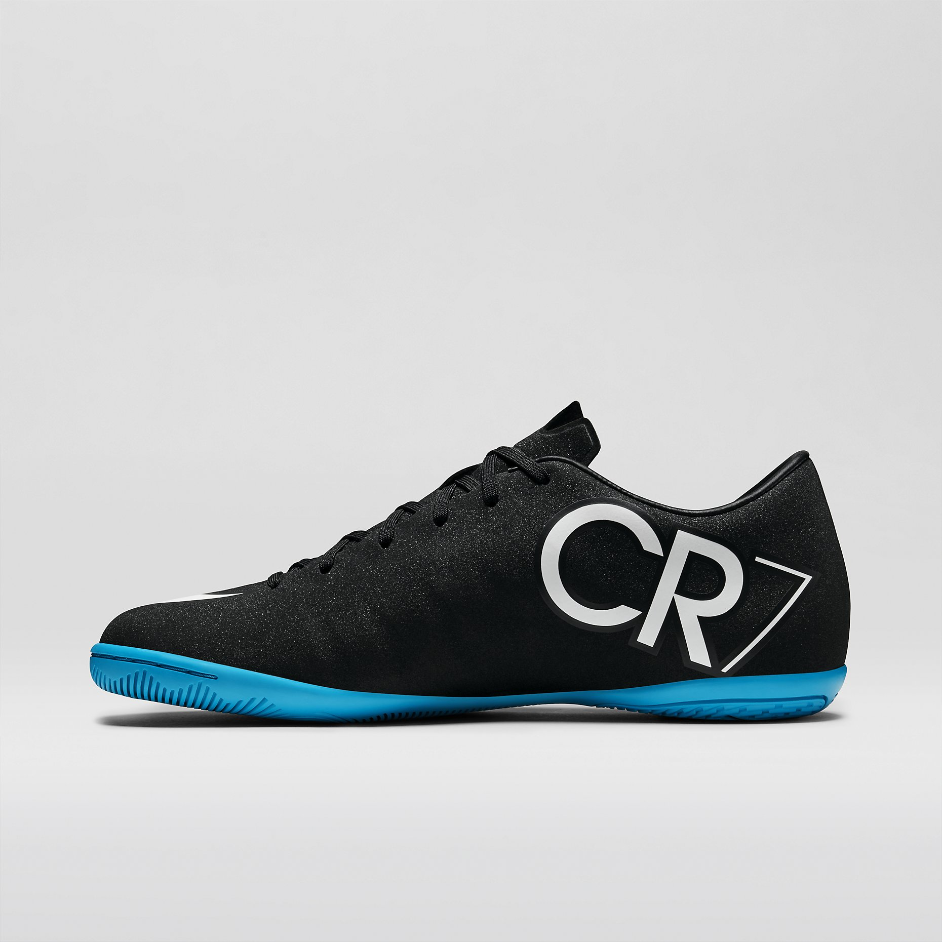 online store 808ee e9611 Nike Mercurial Victory V IC CR7 - Black / Neo Turquoise ...