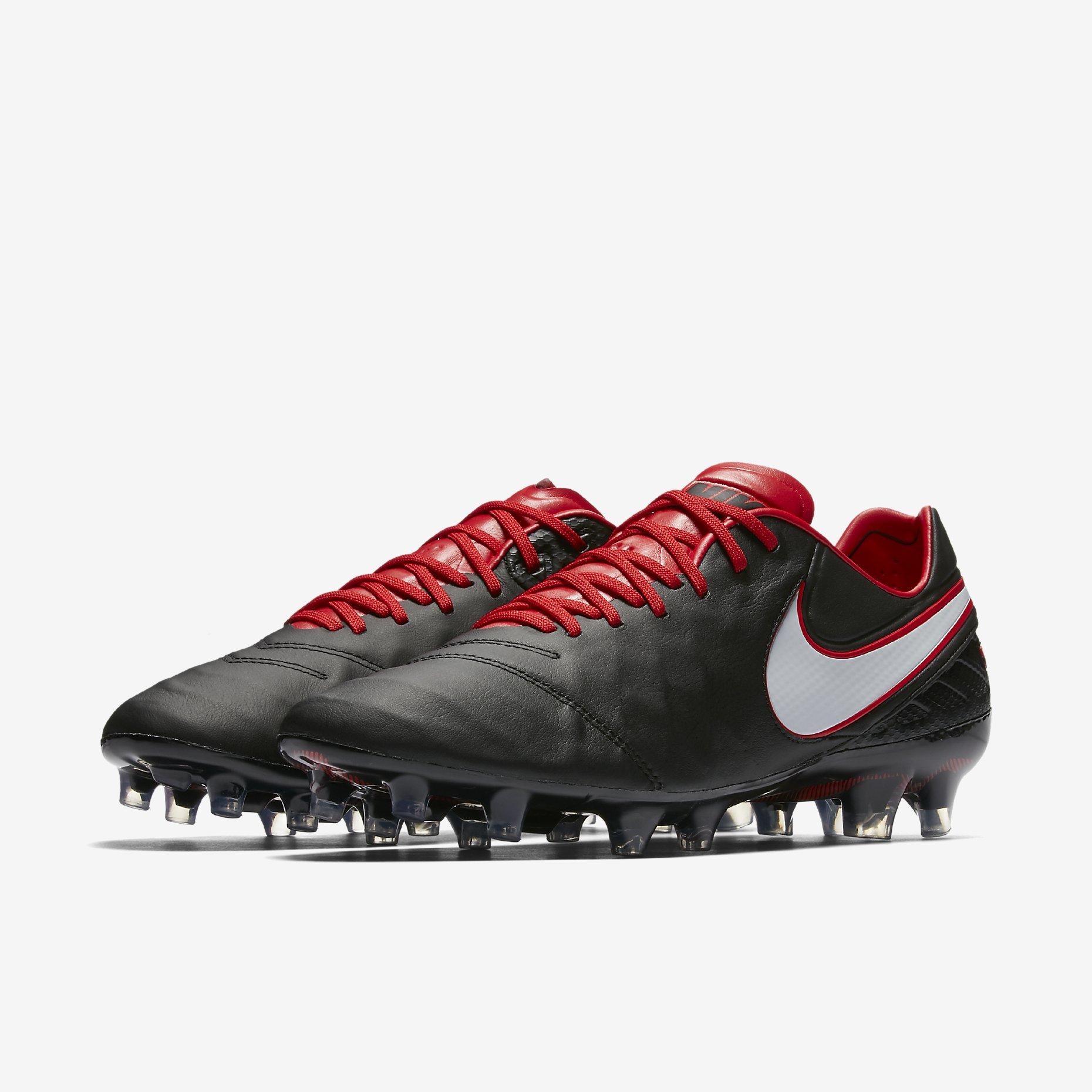 competitive price e95f9 8ee1f Nike Tiempo Legend VI FG Derby Days - Black / University Red ...