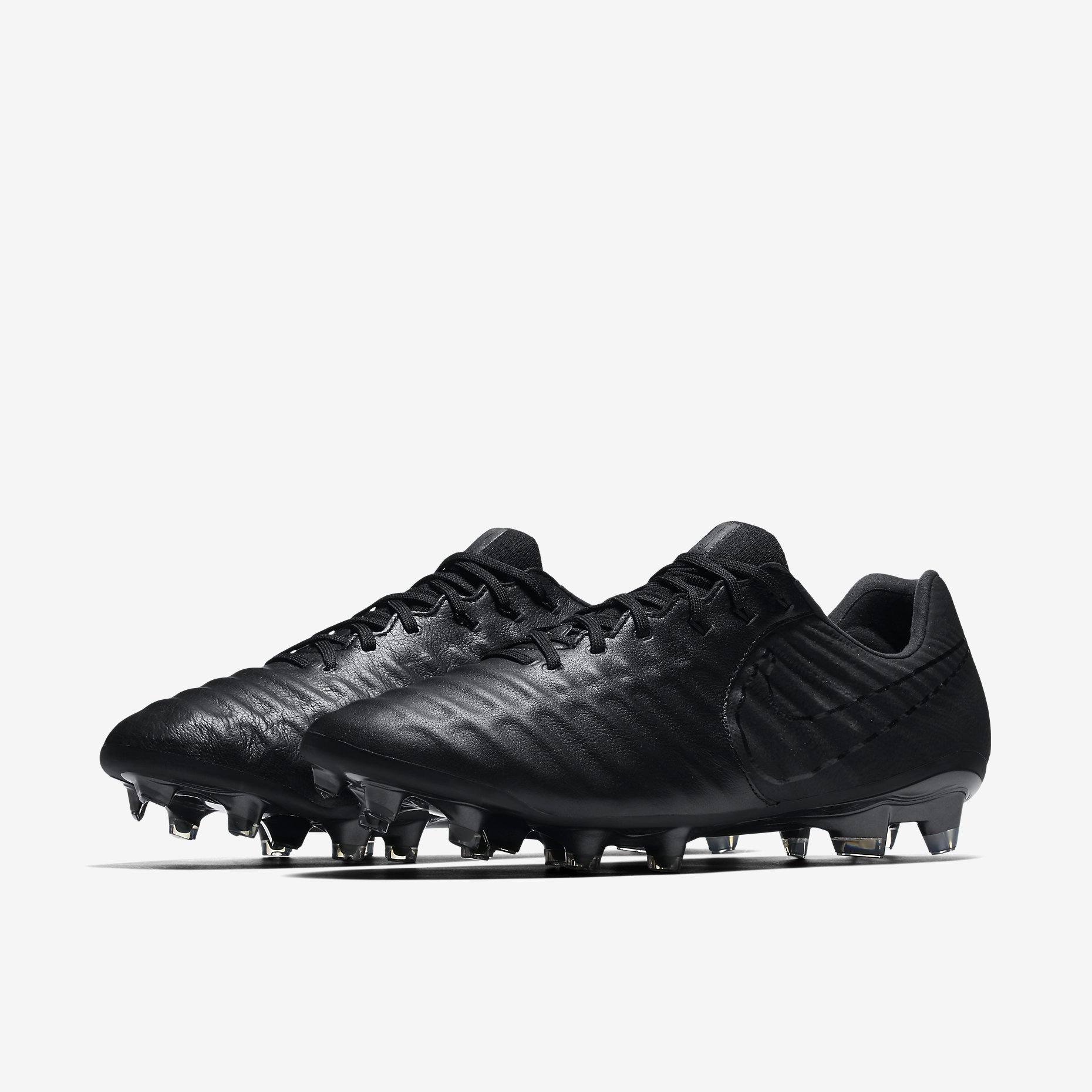 the latest d7ec1 045b1 Nike Tiempo Legend VII FG Academy Pack - Black / Black ...