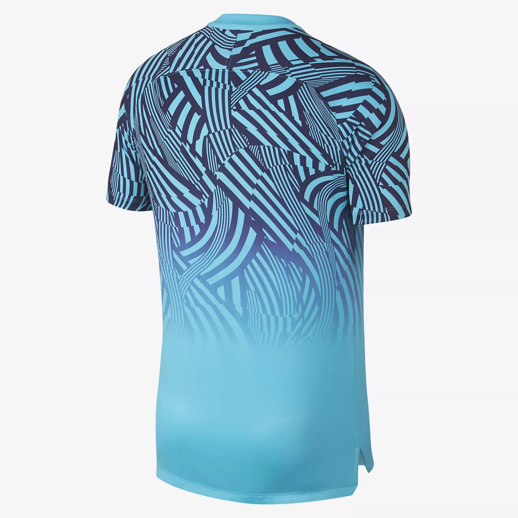 Nike Tottenham Hotspur Dri Fit Squad Football Top Polarised Blue Binary Blue White Equipment Football Shirt Blog