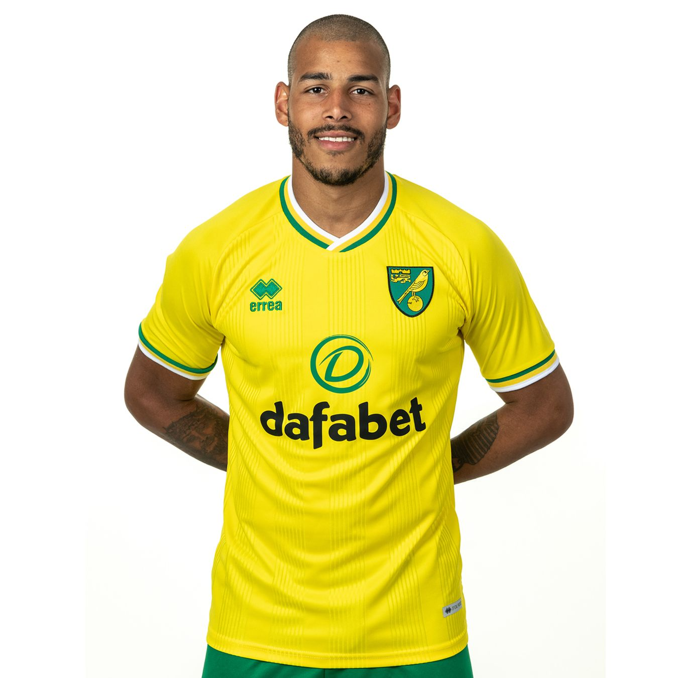 Norwich City 2020-21 Errea Home Kit   20/21 Kits ...