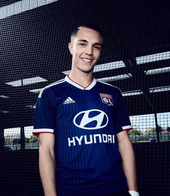 Olympique Lyon 2019-20 Adidas Away Kit   19/20 Kits   Football ...