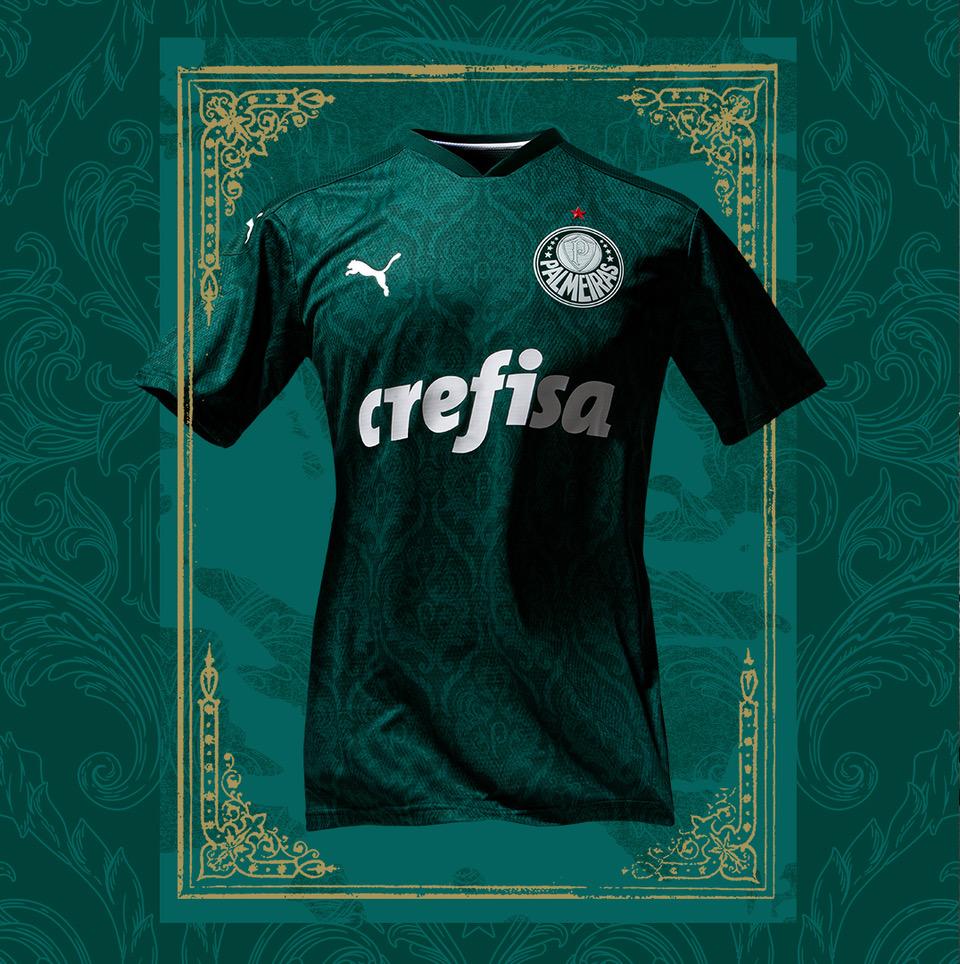 Palmeiras 2020-21 Puma Home Kit | 20/21 Kits | Football shirt blog
