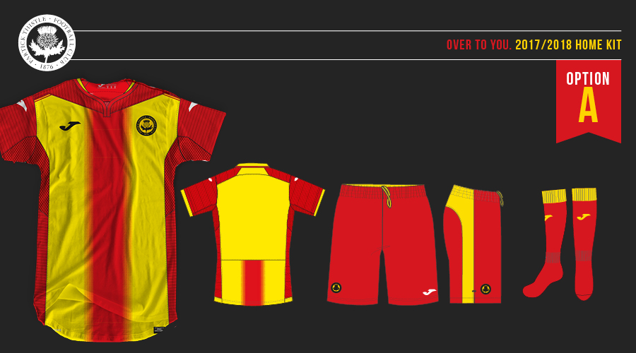 Partick Thistle New Home Kit