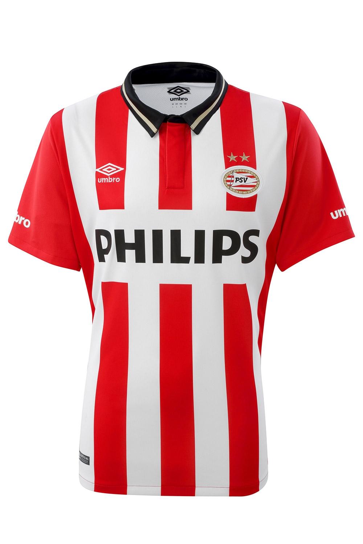 PSV 15/16 Umbro Home Football Shirt | 15/16 Kits ...