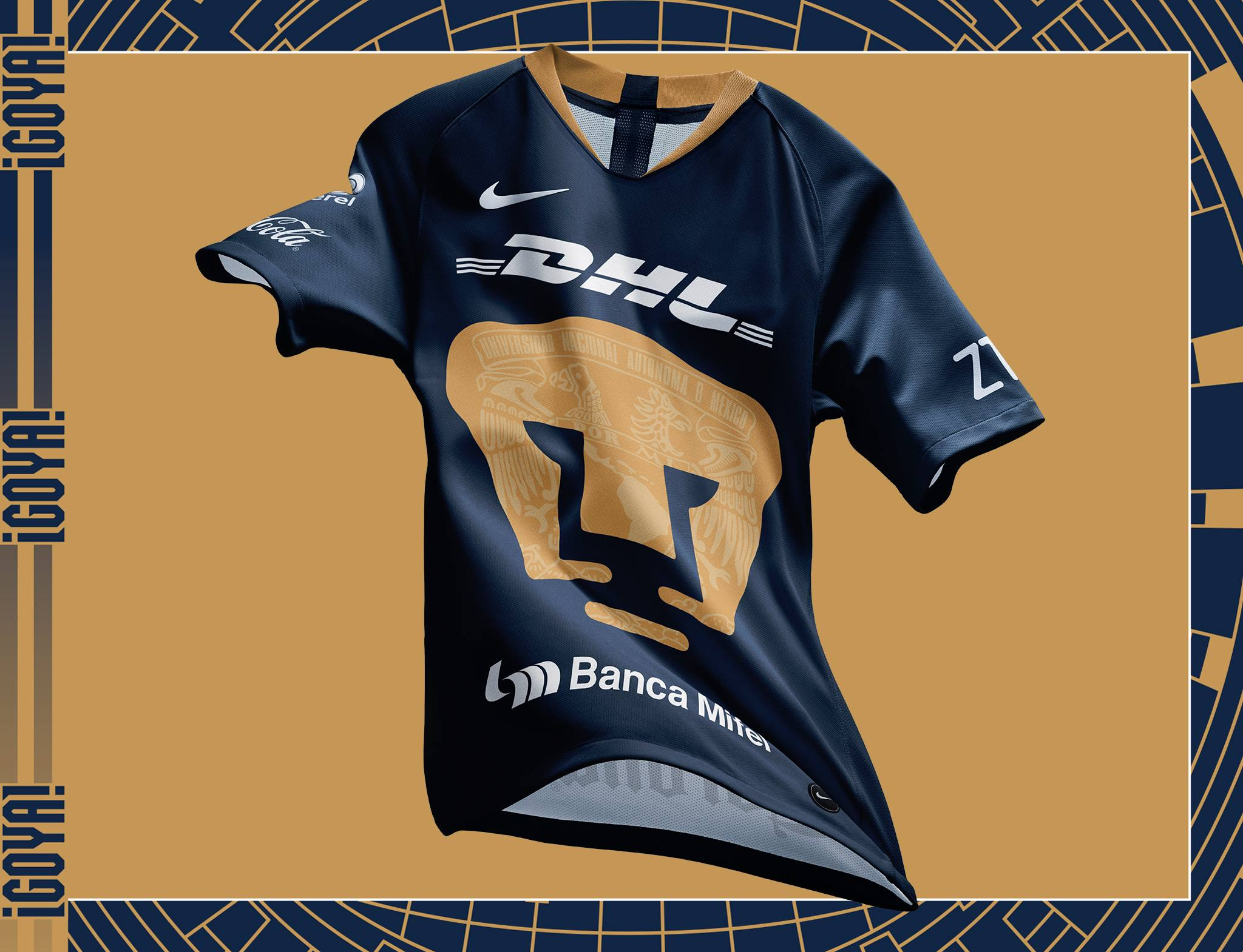 Pumas unam nike third kit kits football shirt blog jpg 2048x1570 Pumas  futbol club kit 151a82723