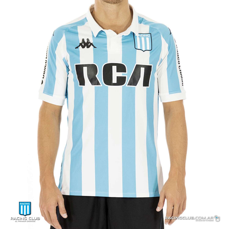 c1f3729a1 Racing Club 2018 Kappa Home Shirt   17/18 Kits   Football shirt blog