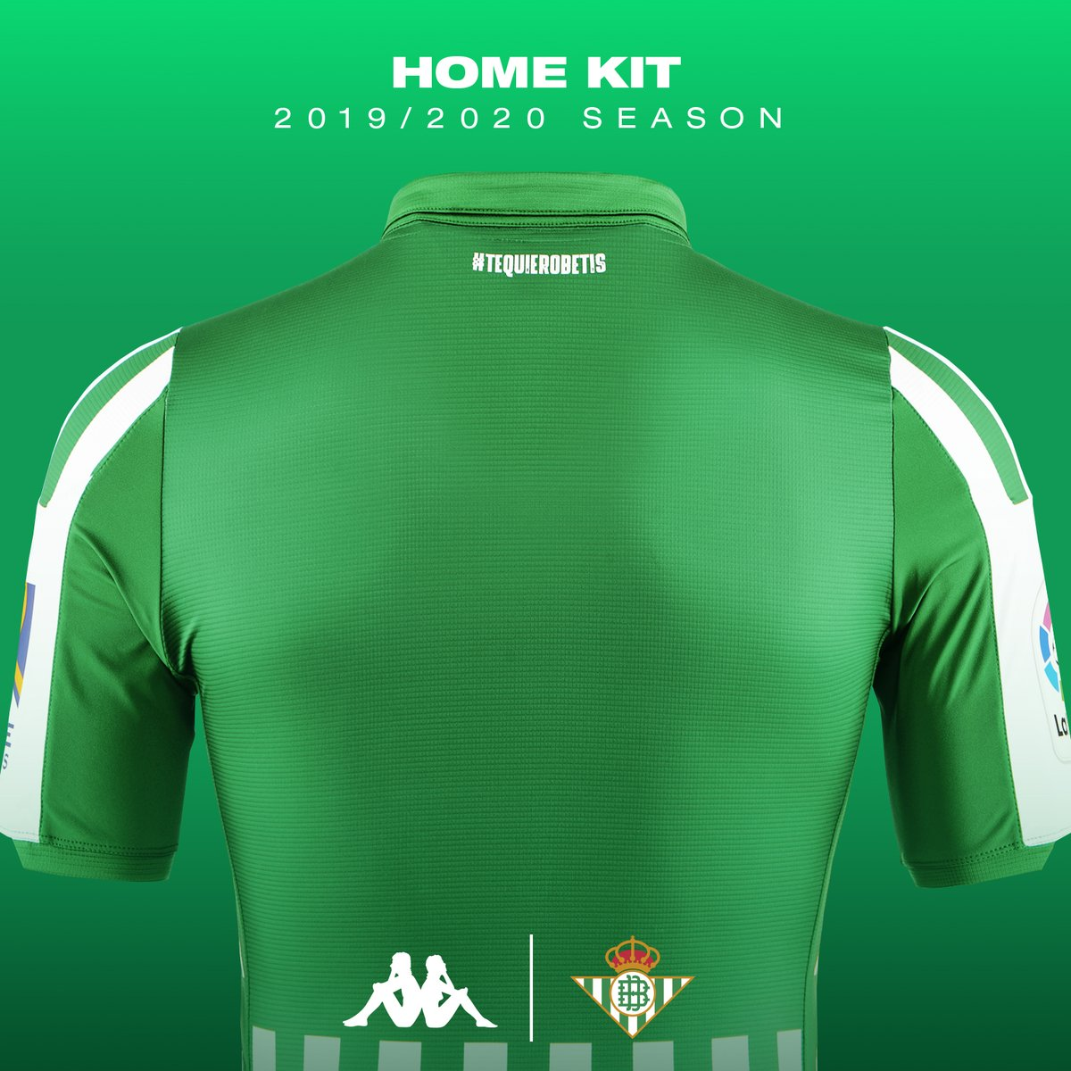 Real Betis 2019 20 Kappa Home Kit 19 20 Kits Football Shirt Blog