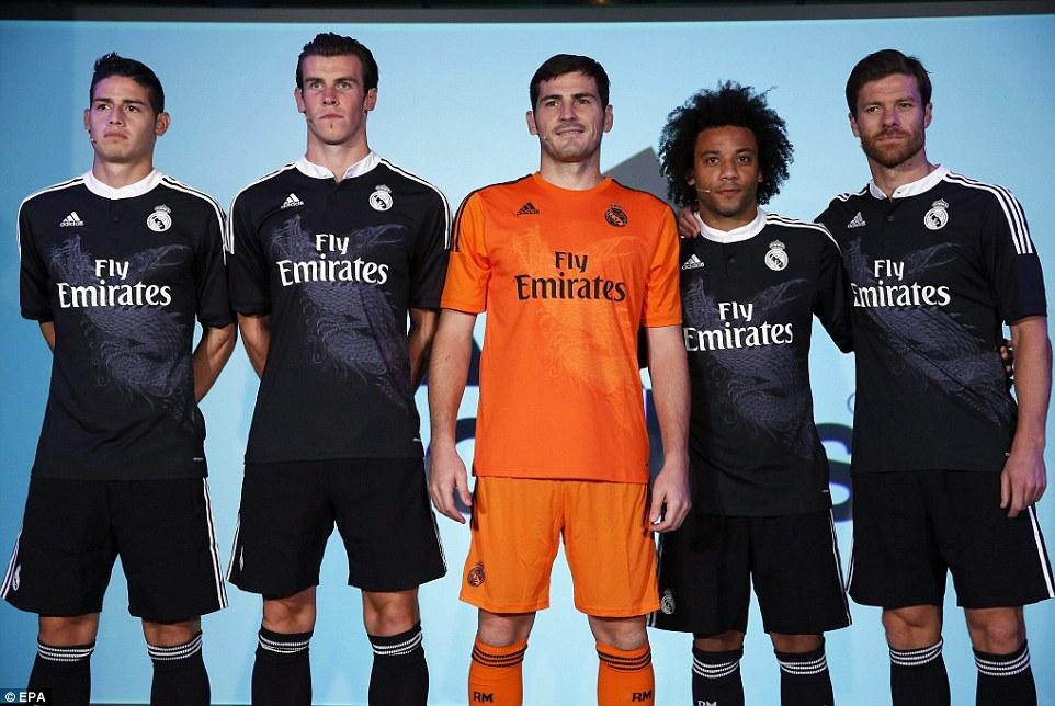 0a7d1506 Real Madrid 2014-2015 Adidas Third kit | 14/15 Kits | Football shirt ...