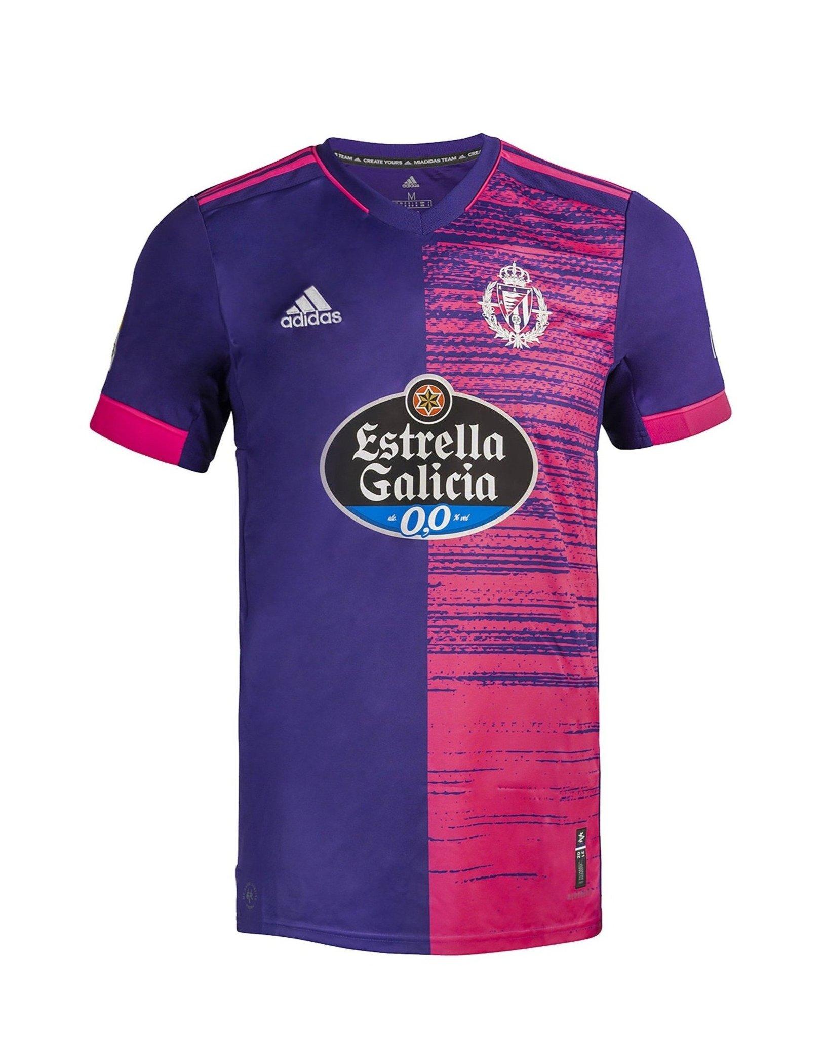 Real Valladolid 2020-21 Adidas Away Kit | 20/21 Kits | Football ...