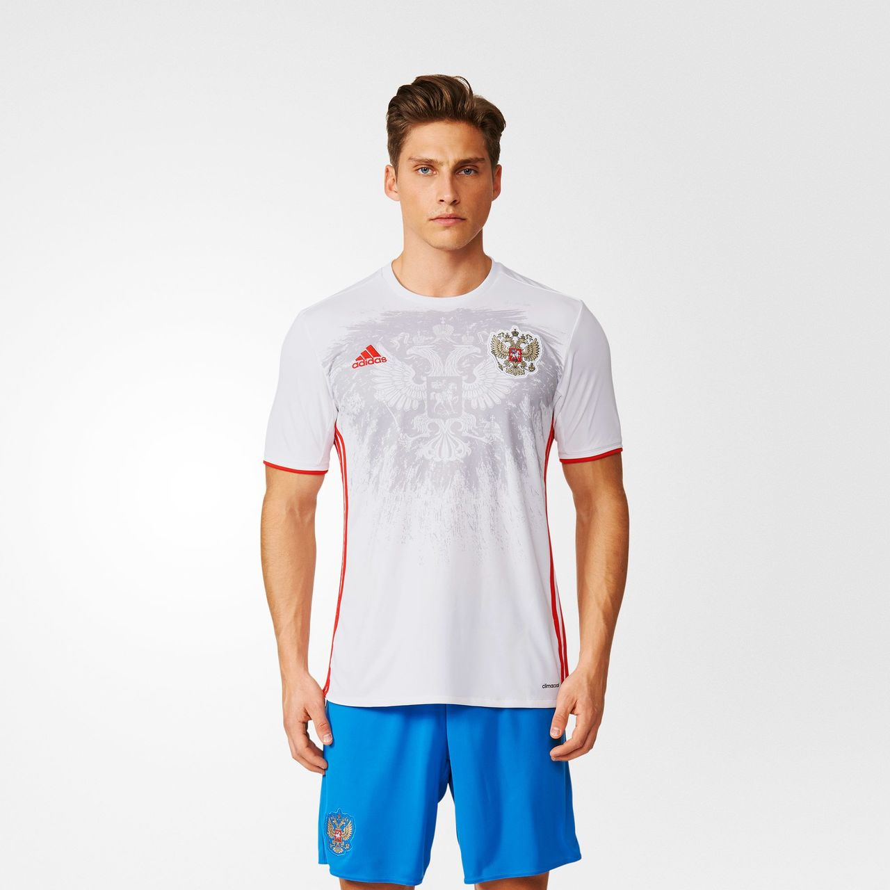 release date 51e5d f81a1 Russia Euro 2016 Adidas Away Kit   15/16 Kits   Football ...