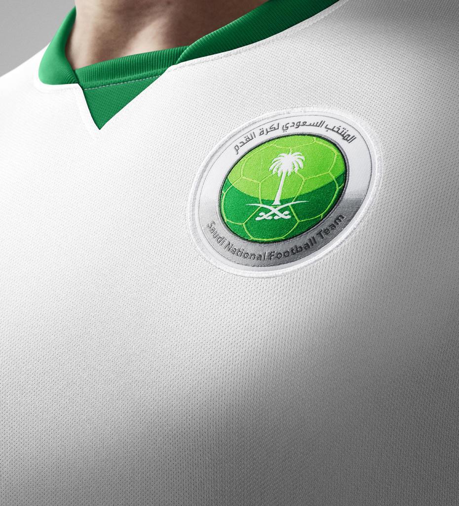 Nike jacket in saudi arabia - Http Www Footballshirtculture Com 14 15 Kits Saudi Arabia 2014 15 Nike Home Away Football Kit Html Sigproidb3b72795ca