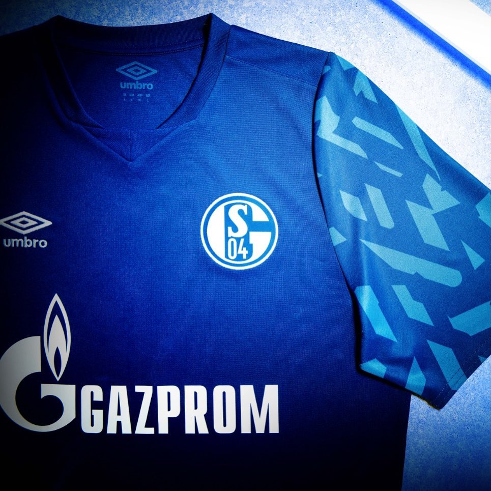 new arrival 42fbf a461e Schalke 2019-20 Umbro Home Kit | 19/20 Kits | Football shirt ...