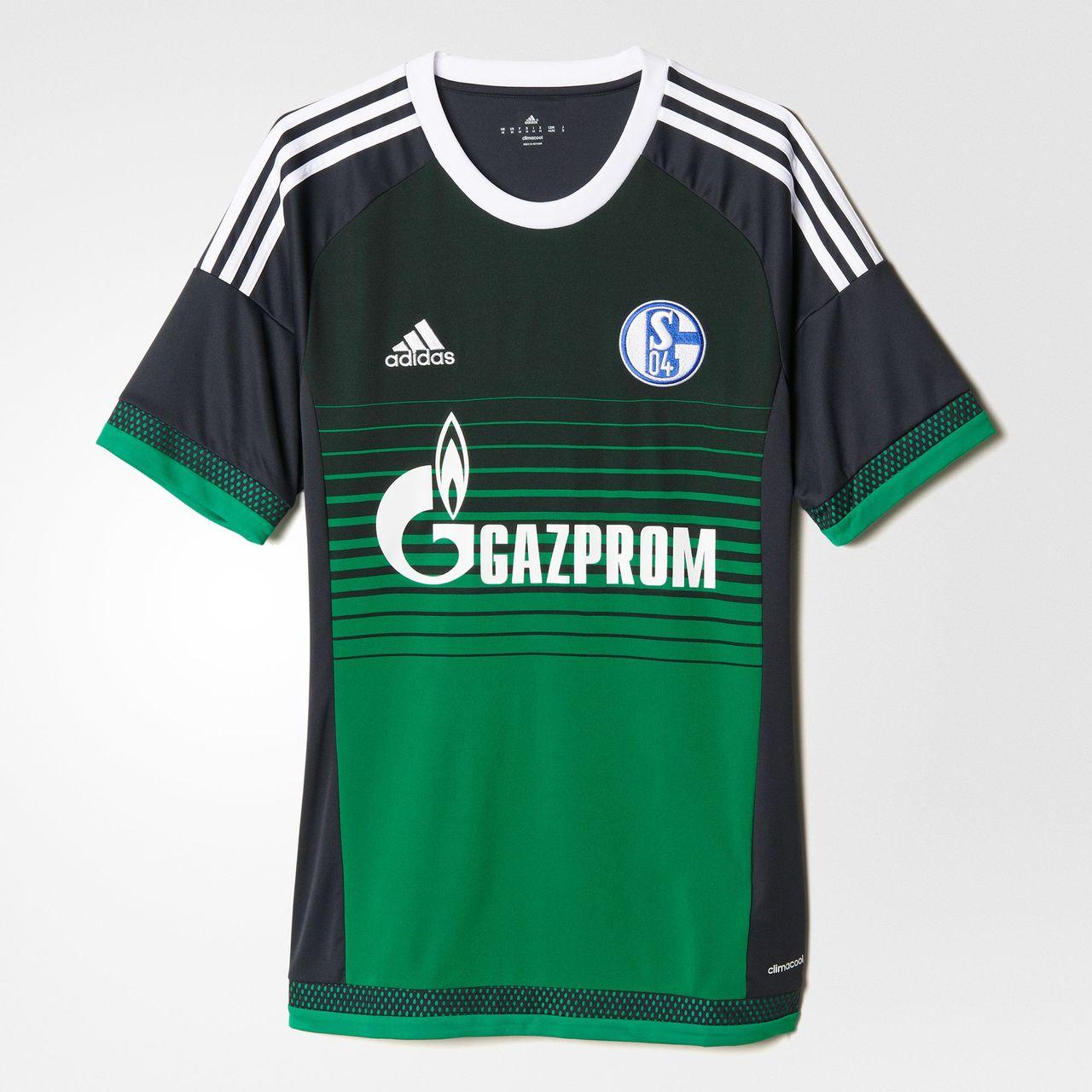 Schalke 04 Adidas 15/16 Third Football Shirt   15/16 Kits ...