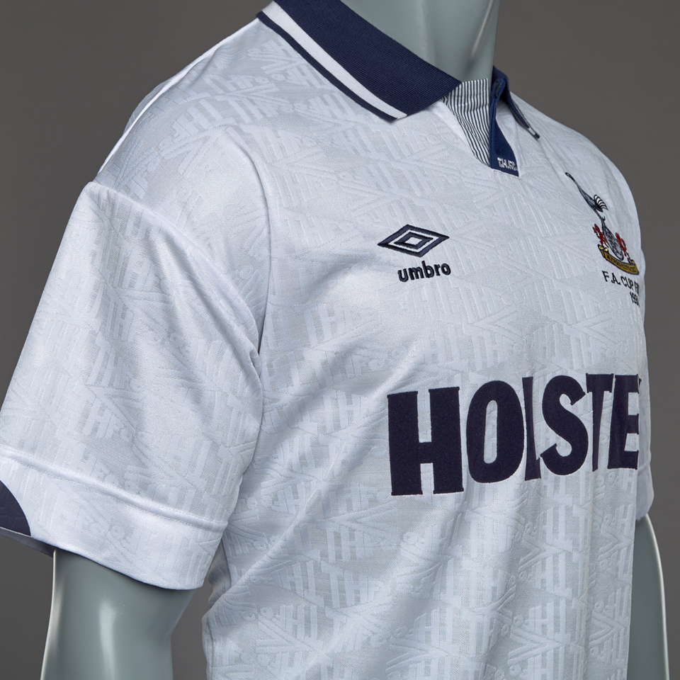 finest selection 4dbfb 403e6 Score Draw Tottenham Hotspur 1991 FA Cup Final Umbro Retro ...