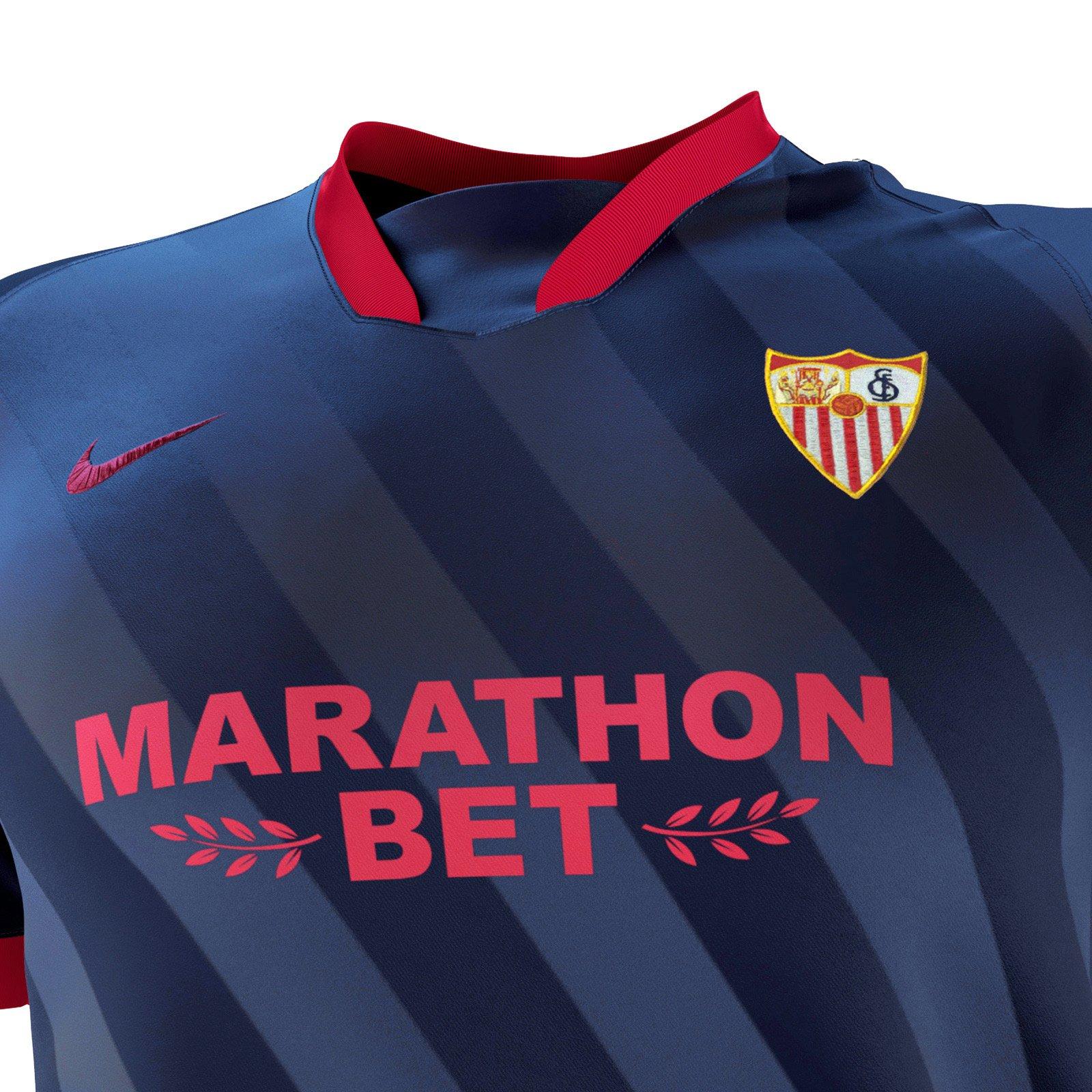 Sevilla 2020 21 Nike Home Away And Third Kits 20 21 Kits Football Shirt Blog