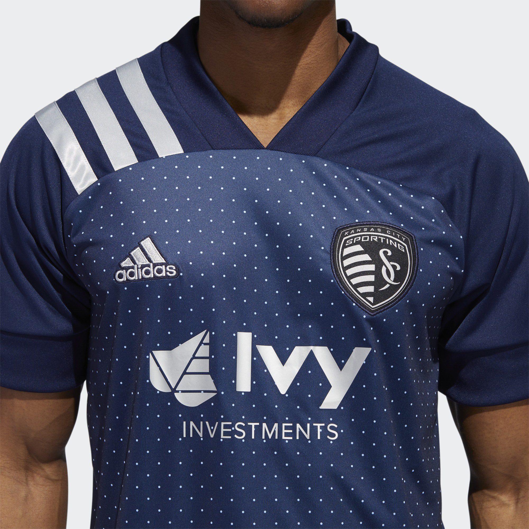 Sporting Kansas City 2020-21 Adidas Away Kit | 20/21 Kits ...