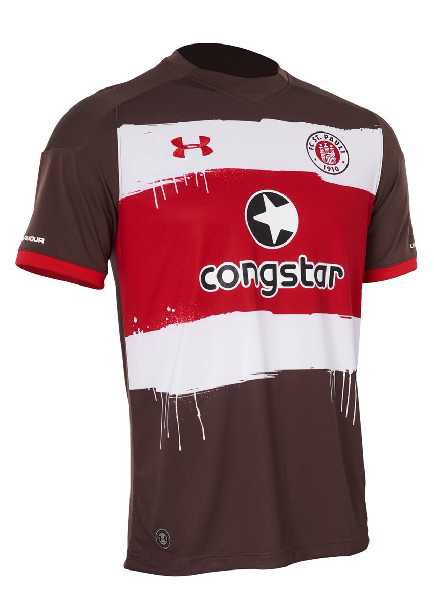 st pauli 17 18 under armour home kit 17 18 kits. Black Bedroom Furniture Sets. Home Design Ideas