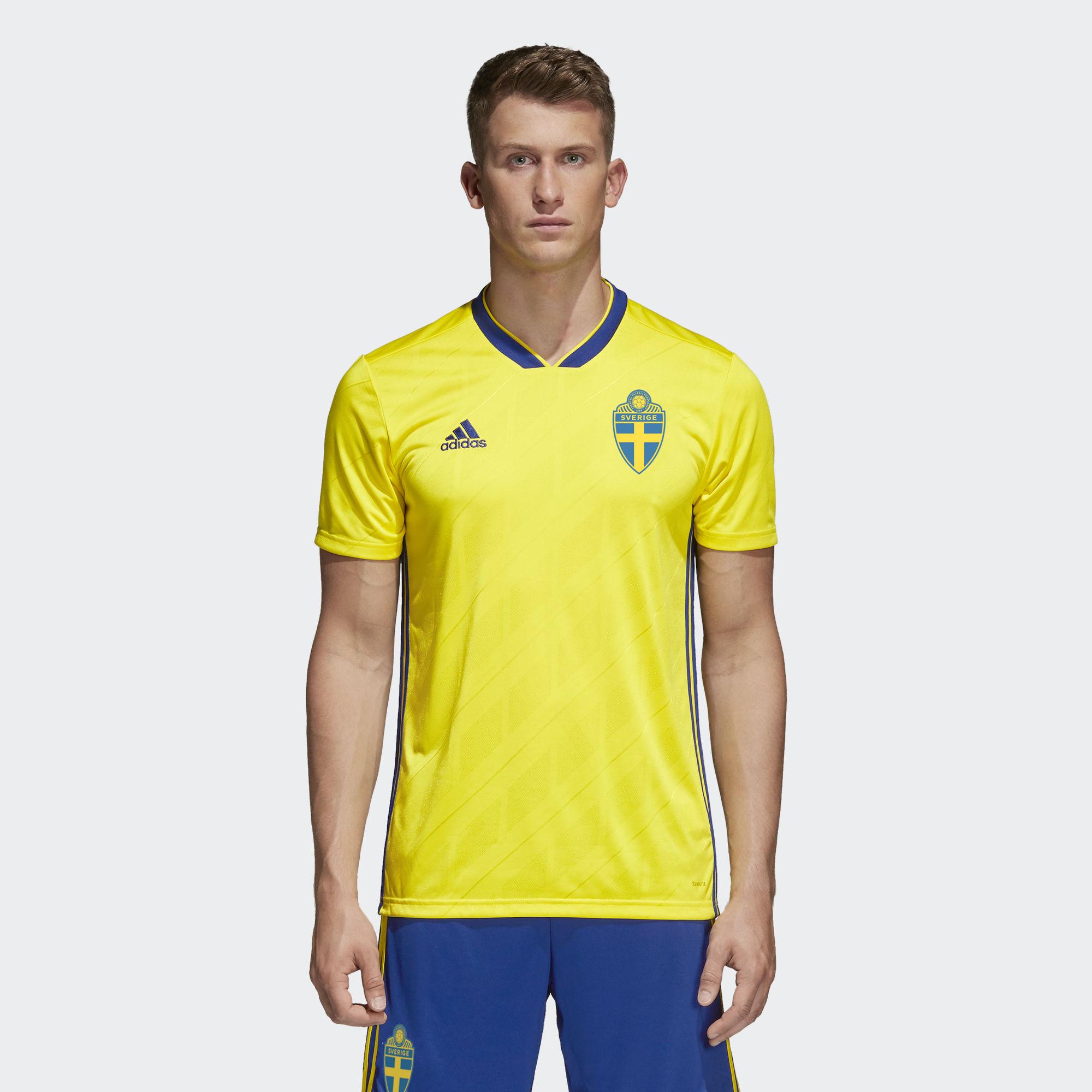 Картинки по запросу sweden 2018 world cup kit