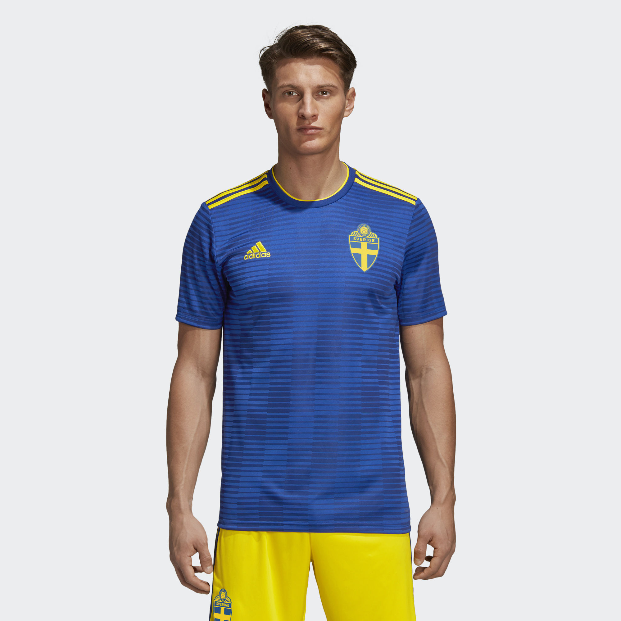 8a3c352d252 ... 2018 World Cup Adidas Home Kit · Click to enlarge image  sweden_2018_world_cup_adidas_away_kit_a.jpg ...