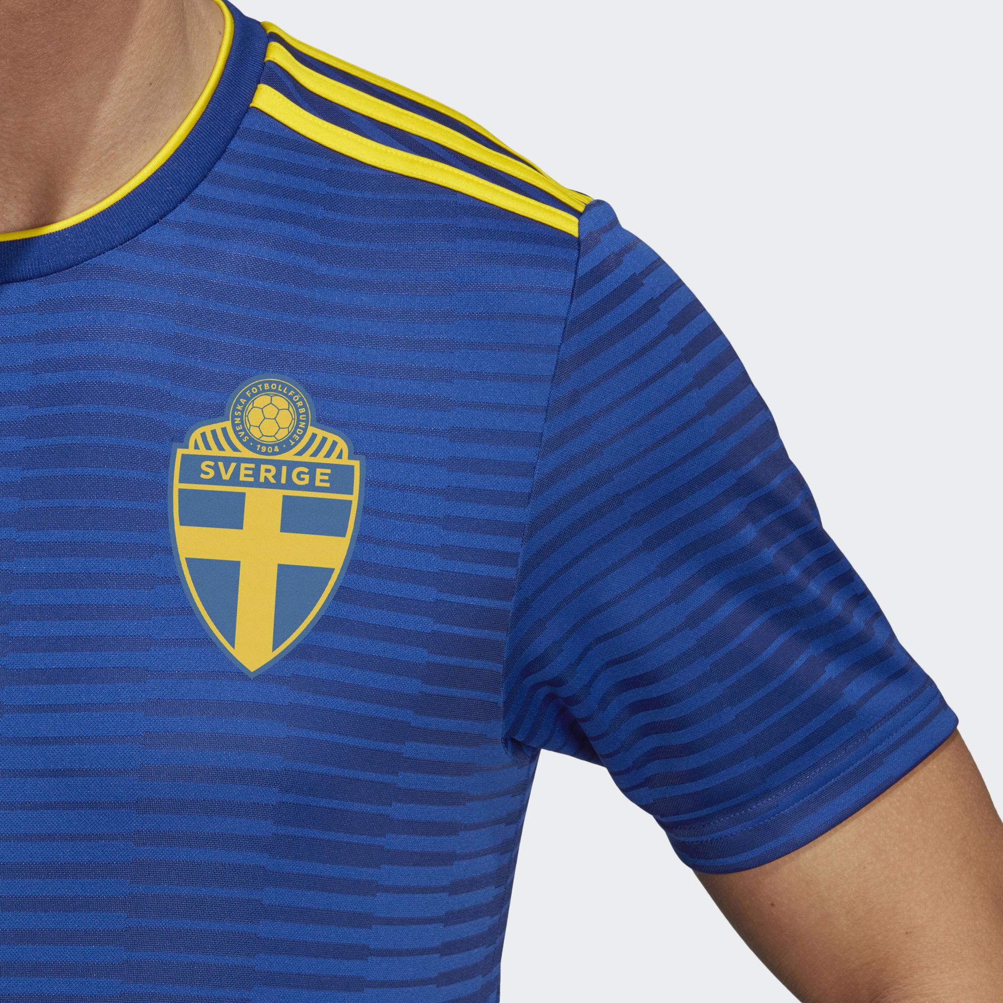 sweden 2018 world cup adidas away kit 17 18 kits. Black Bedroom Furniture Sets. Home Design Ideas