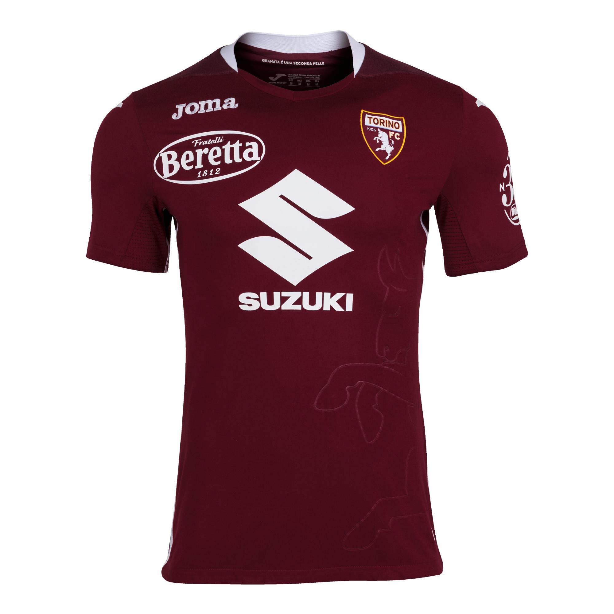 Torino 2020-21 Joma Home & Away Kits | 20/21 Kits | Football shirt ...