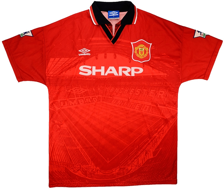 e161ef348 Click to enlarge image  umbro 1995 96 manchester united match issue home shirt thornley a.jpg ...
