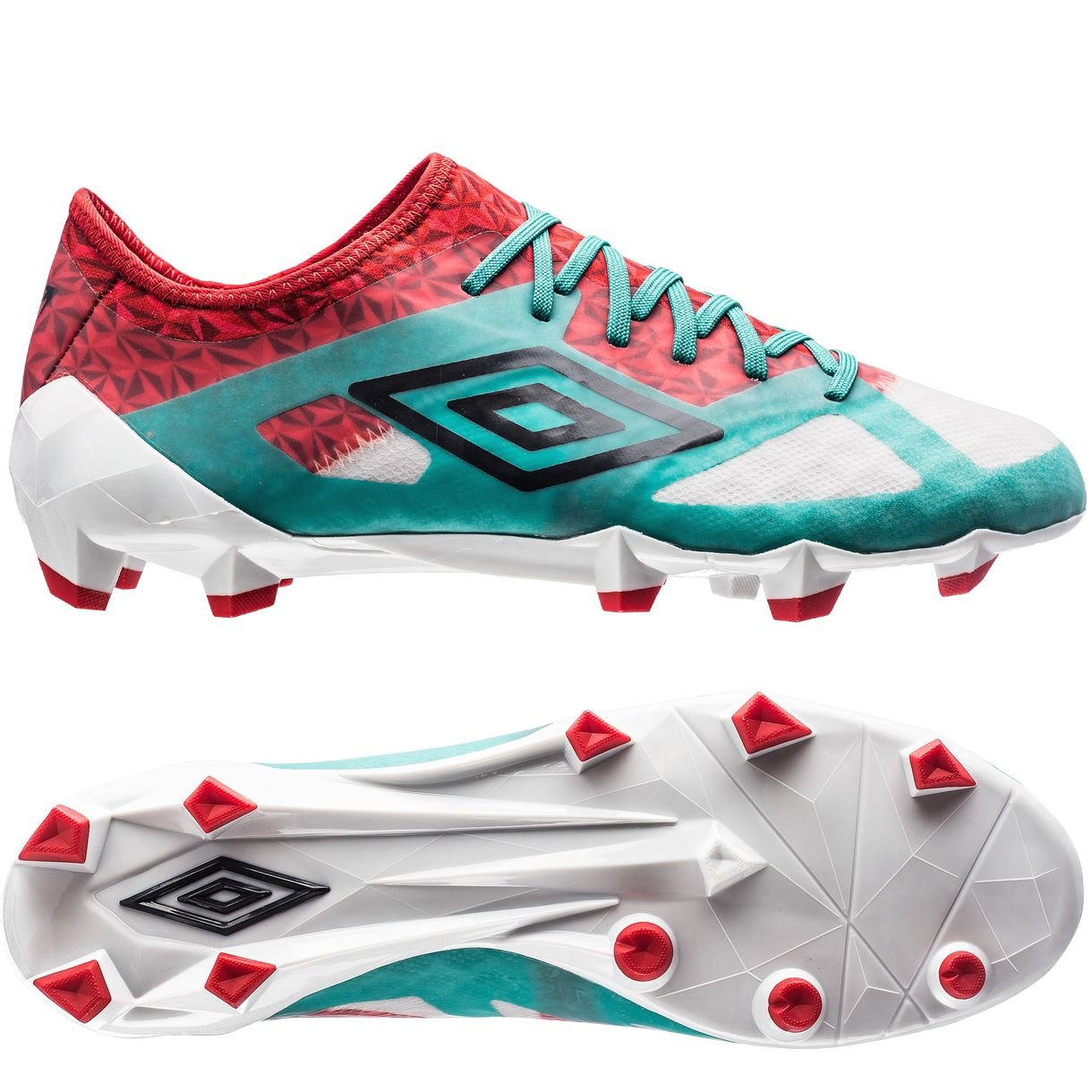 ... Click to enlarge image umbro velocita 3 pro hg dawn blue carbon fiery  red a. 30854e34c5dc5