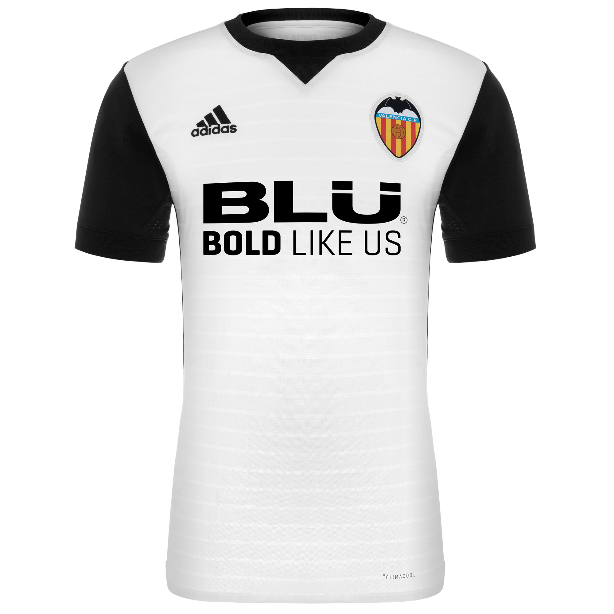 pretty nice 52db3 efd29 Valencia 2017-18 Adidas Home Kit | 17/18 Kits | Football ...