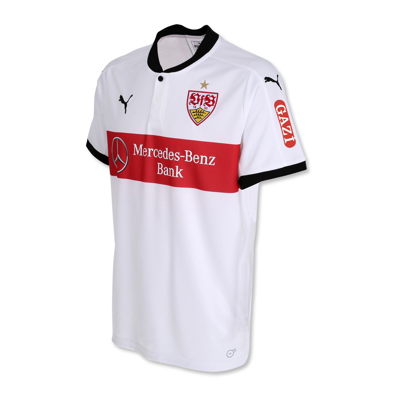 Stuttgart soccer club jersey silver for Germany mercedes benz soccer jersey