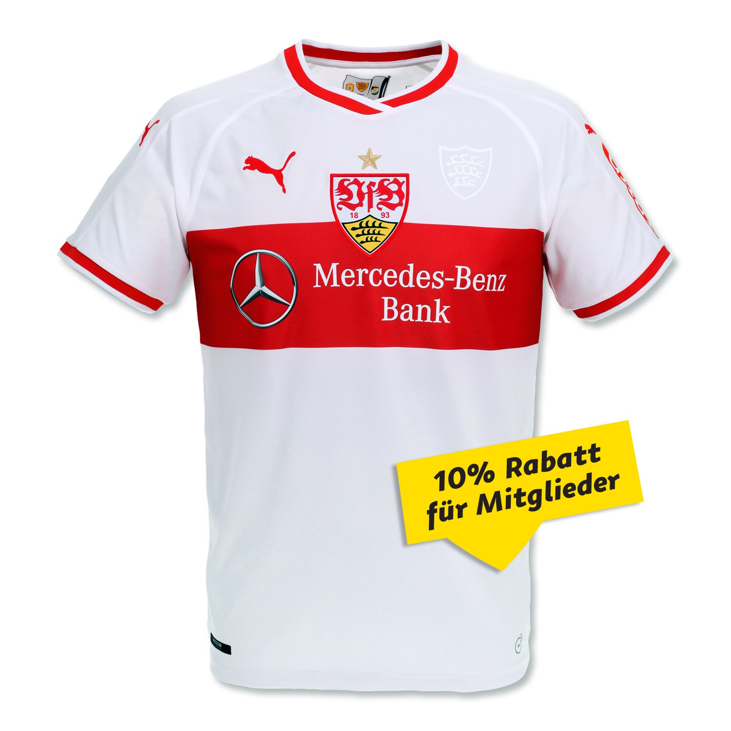 vfb stuttgart 18 19 puma home kit 18 19 kits football. Black Bedroom Furniture Sets. Home Design Ideas