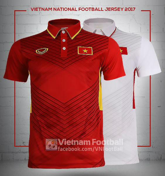 ... Vietnam 2017 home and away shirts by Grand Sport. Click to enlarge  image vietnam 2017 grand sport home away kits a.jpg  Click to enlarge image  ... 2ebc87444