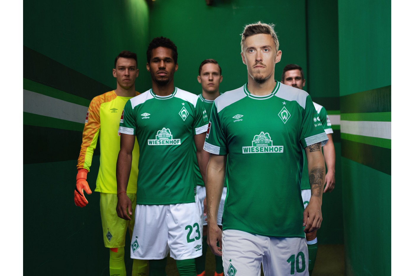 werder bremen 2018 19 umbro home kit 18 19 kits. Black Bedroom Furniture Sets. Home Design Ideas