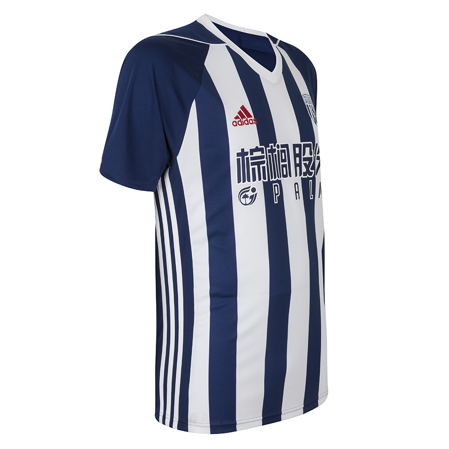 West bromwich albion 2017 18 adidas home kit 17 18 kits for Kit west homes