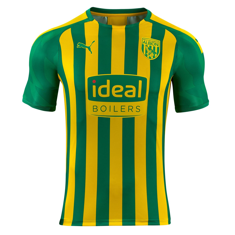 West Bromwich Albion 2019 20 Puma Away Kit 19 20 Kits Football Shirt Blog