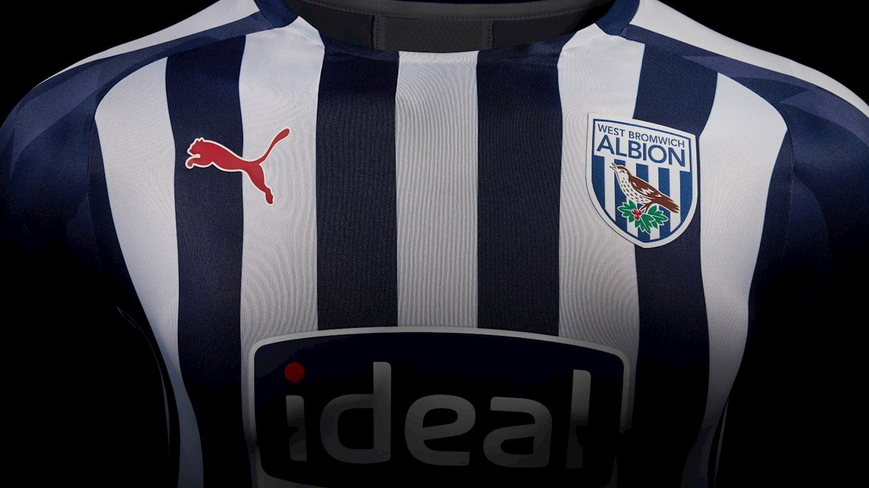 West Bromwich Albion 2019 20 Puma Home Kit 19 20 Kits Football Shirt Blog